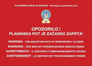 OpozoriloPZS-zaprta_pot
