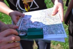 Orientacija-kompas_karta