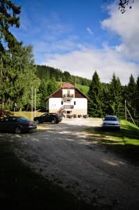 Planinski dom Košenjak.